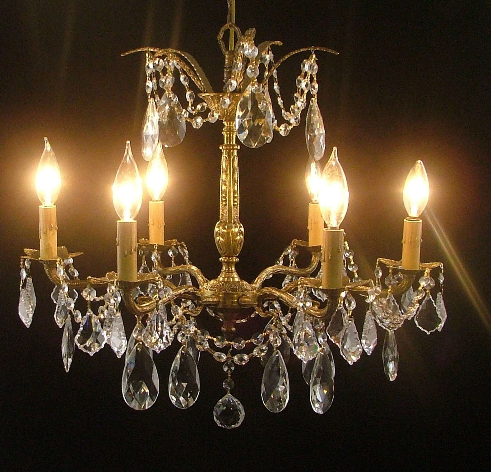 Rewiring A Chandelier : Campernel Designs